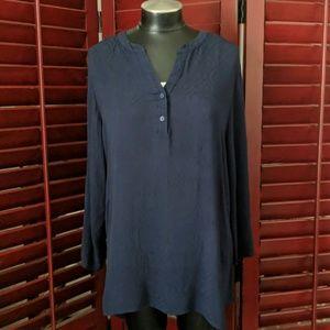 Zenobia Navy Blue Shirt